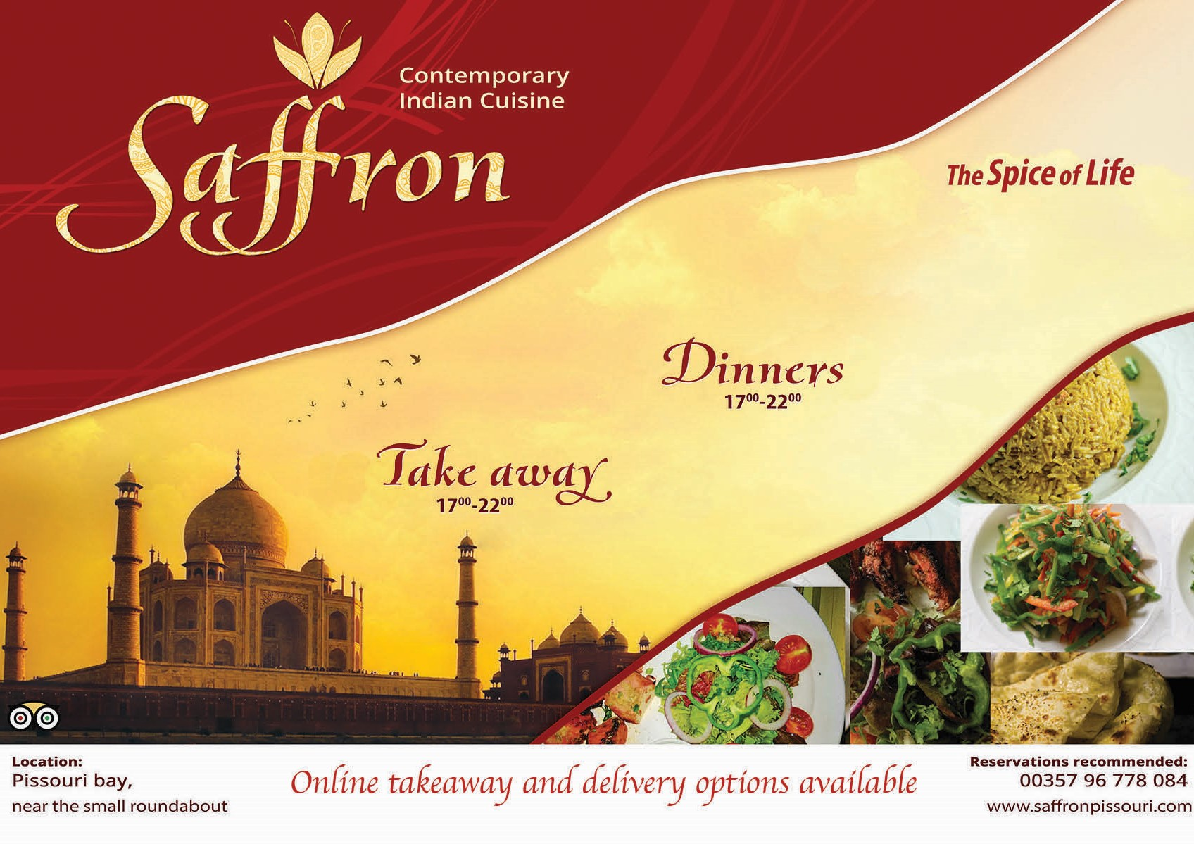 Saffron ad updated