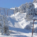 Ski Slopes in Troodos