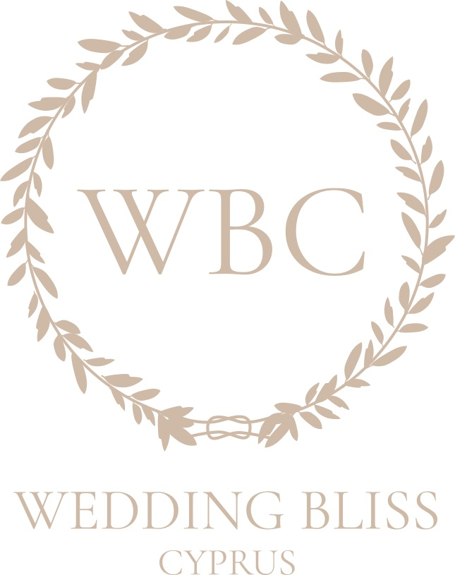 WEDDING-BLISS-CYPRUS-stacked-logo-Likeable-Sand_WHITE BACKGROUND