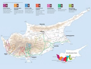 wine routes map